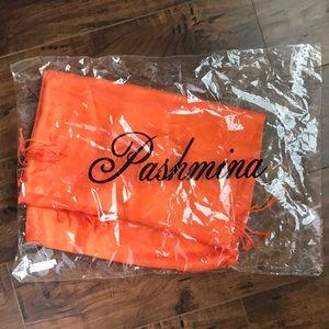 Beautiful orange scarf